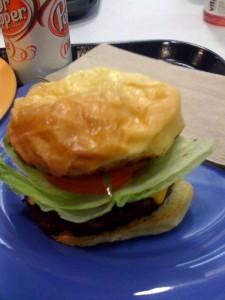 The Google Kobe Cheeseburger