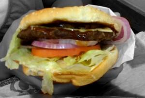 The Mighty Teriyaki Burger from Carl's Jr.