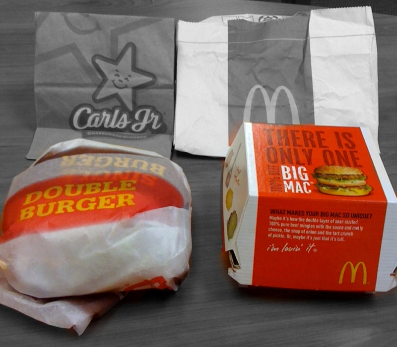 Big Mac vs. Big Carl