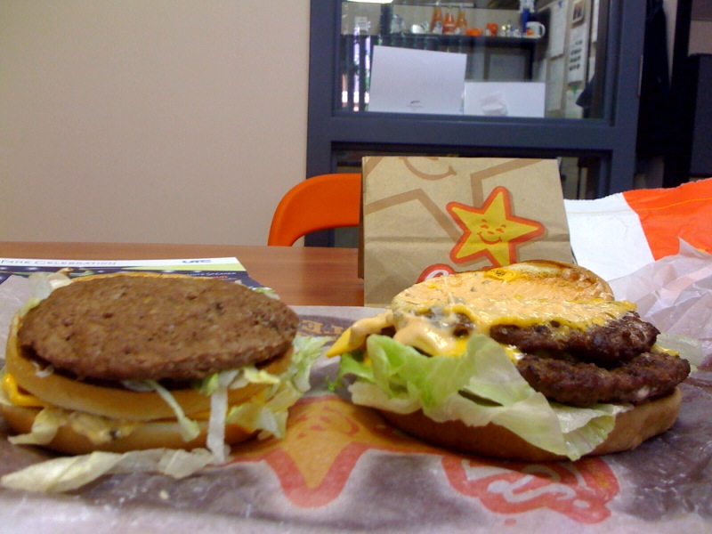 Big Mac vs Big Carl - Tops Off