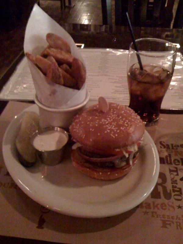 blt burger meal