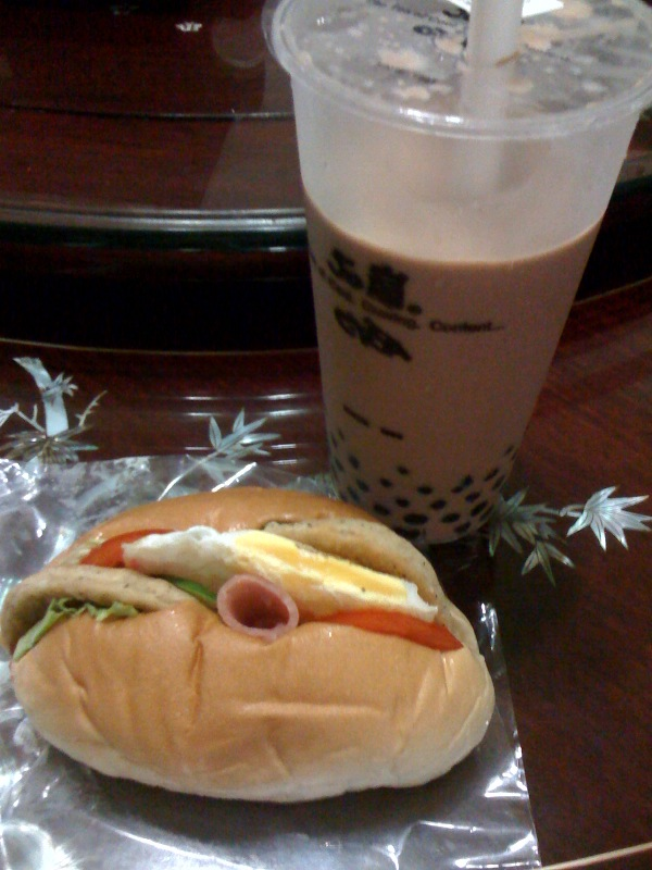 HanBaoBao and Ovaltine with Pearls