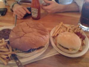 Destroying Angel Burger