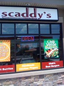 Scaddy's Sign