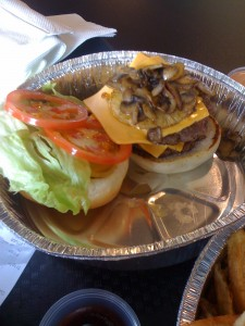 triple buster at buster burger
