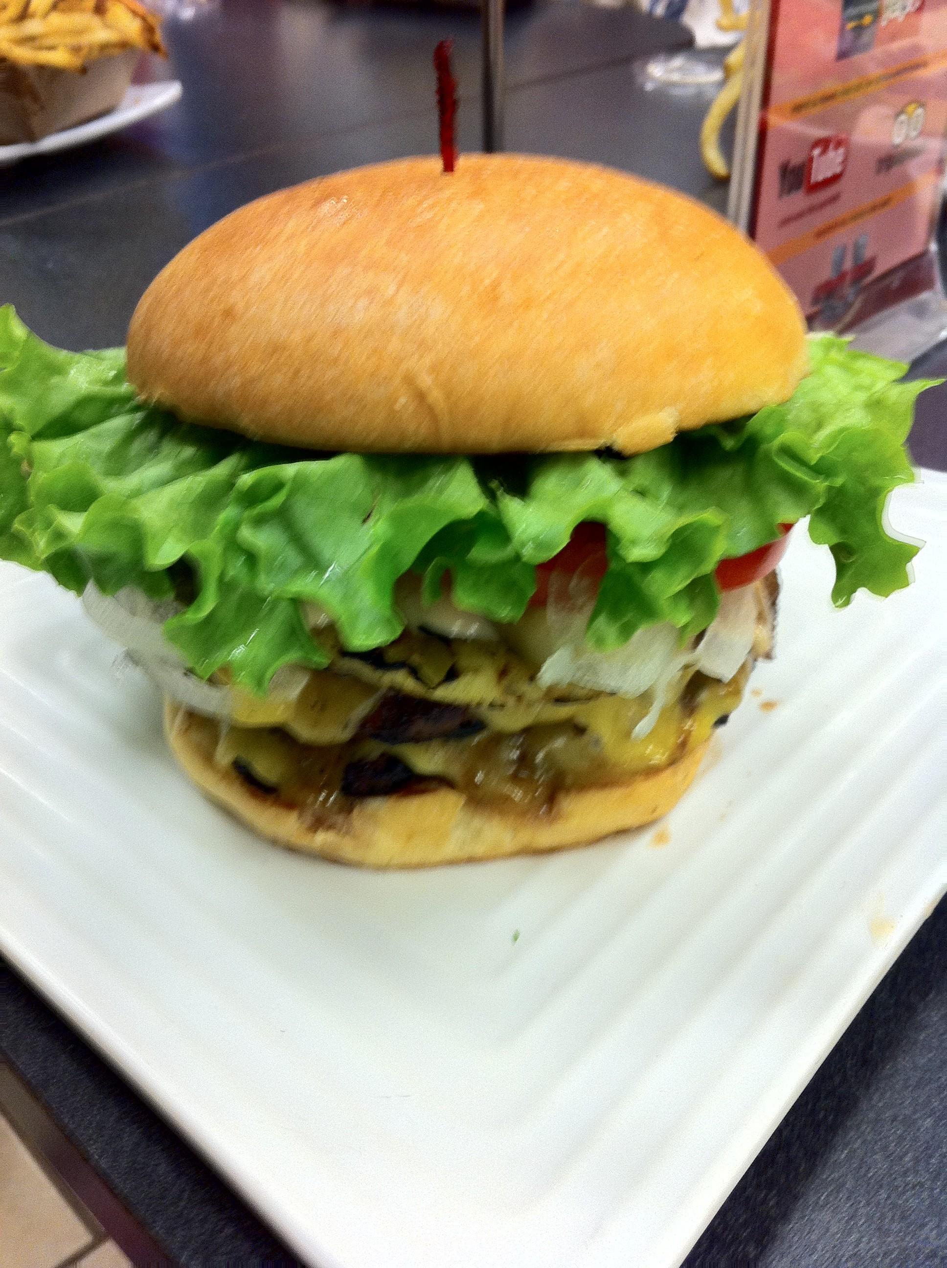 Ultimate Burger Double Decker