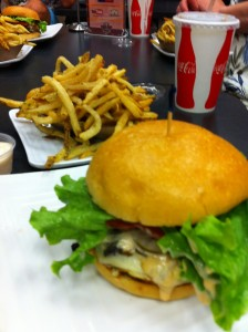 Ultimate Burger Fries and Ultimate Burger