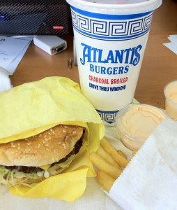 Atlantis Burgers cheeseburger