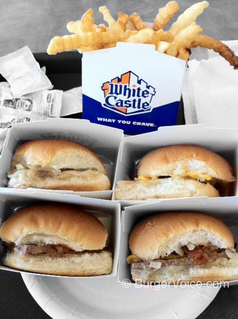White Castle Burgers