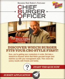 Chief Burger Officer