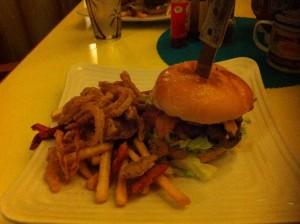 Sunshine Grill Burger Grand Cayman