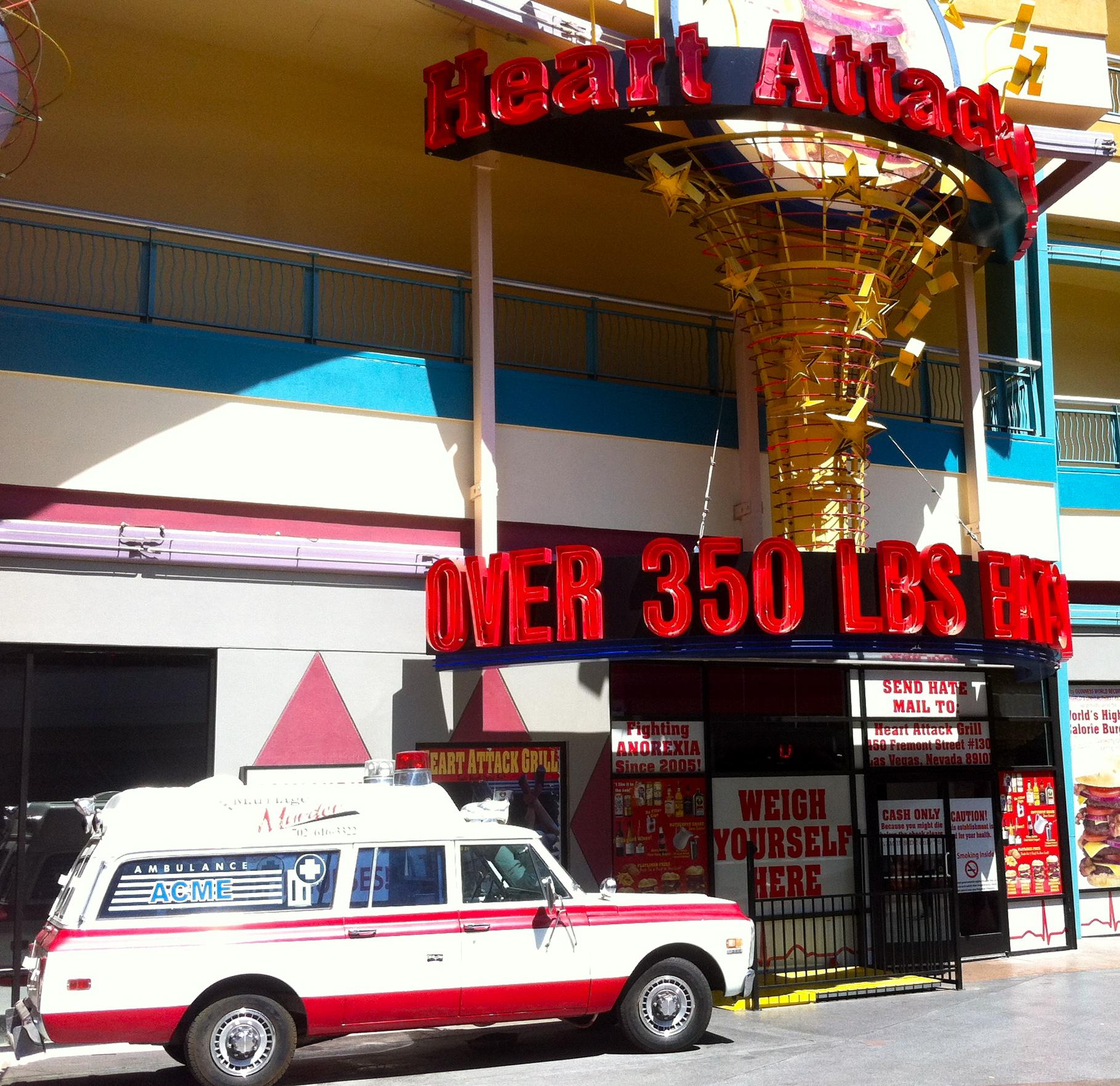Heart Attack Grill in Las Vegas Nevada