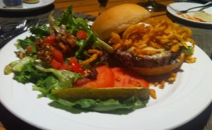 Stein's Burger meal