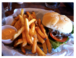Lucky 13 on National Cheeseburger Day