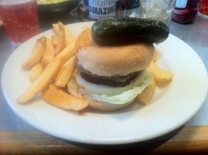 Winger's Winger Burger Meal with Fries