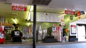 Inside Woody's Drive-In Salt Lake City