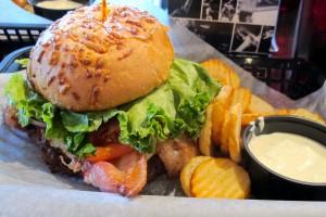 Lokals Utah Booyah burger and spud fries