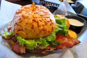 Booyah Burger at Lokal's