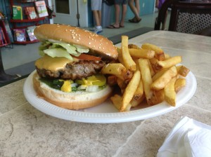 Hillside Beach Restaurant Home Burger