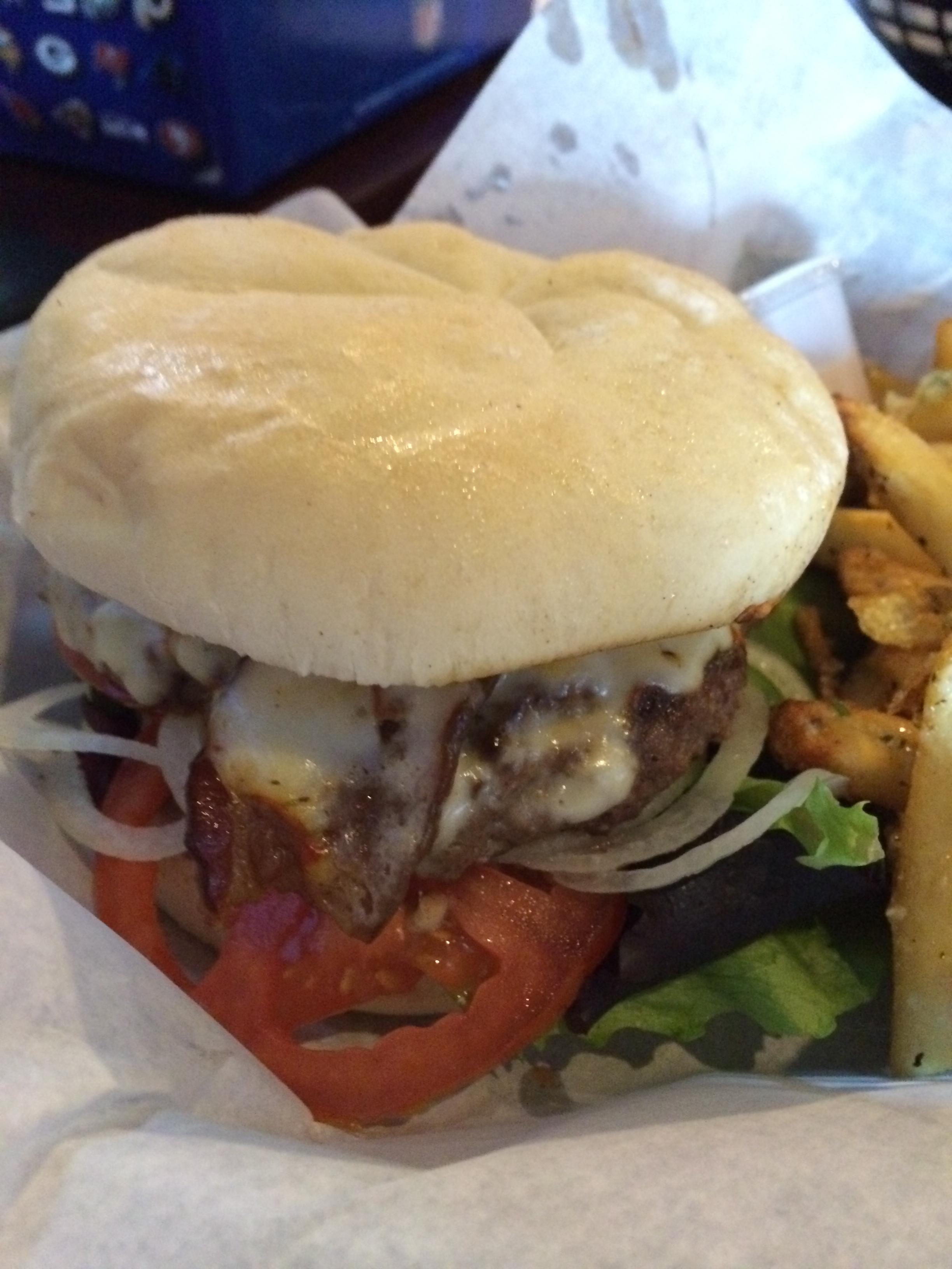 Antelope burger special
