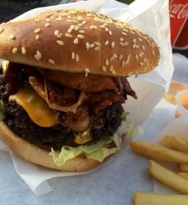 GriDelis Big Nasty Burger