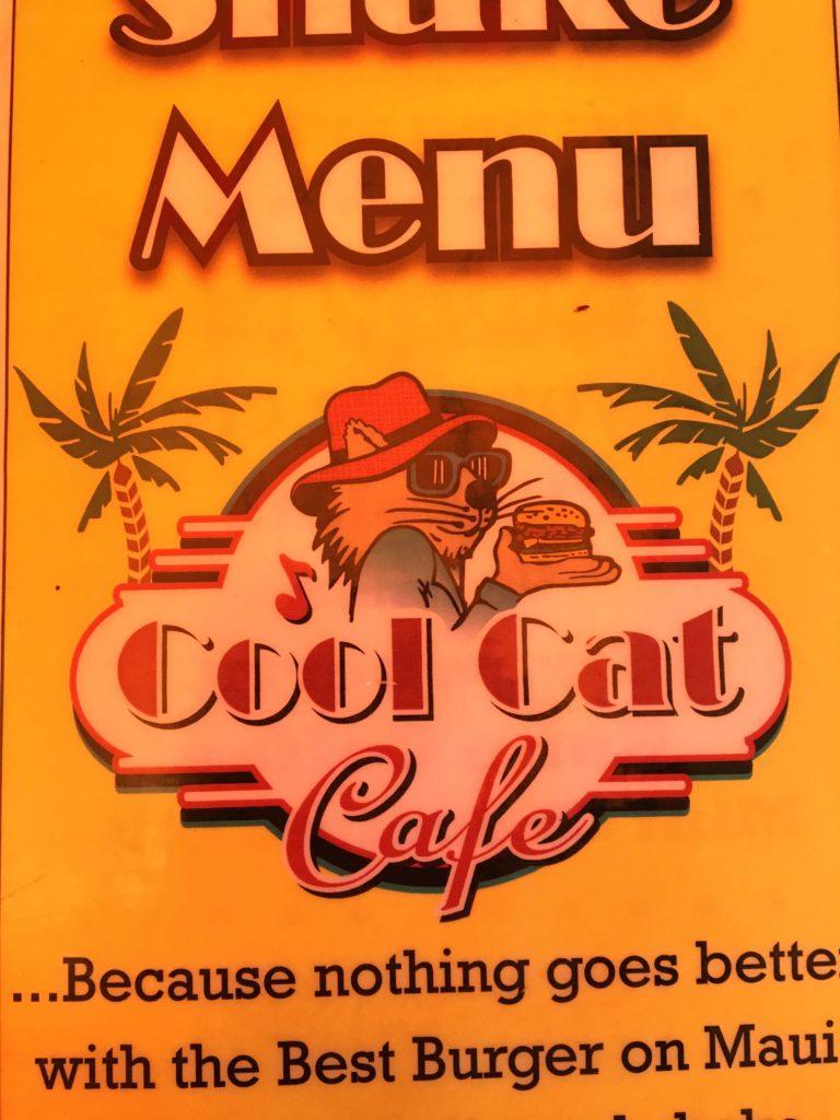 منوی کافه گربه مائو