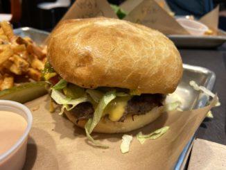 just burgers at Harmons