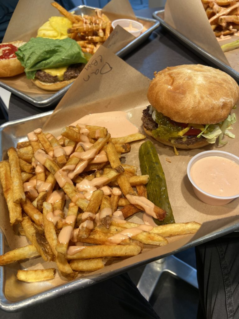harmons burger meal