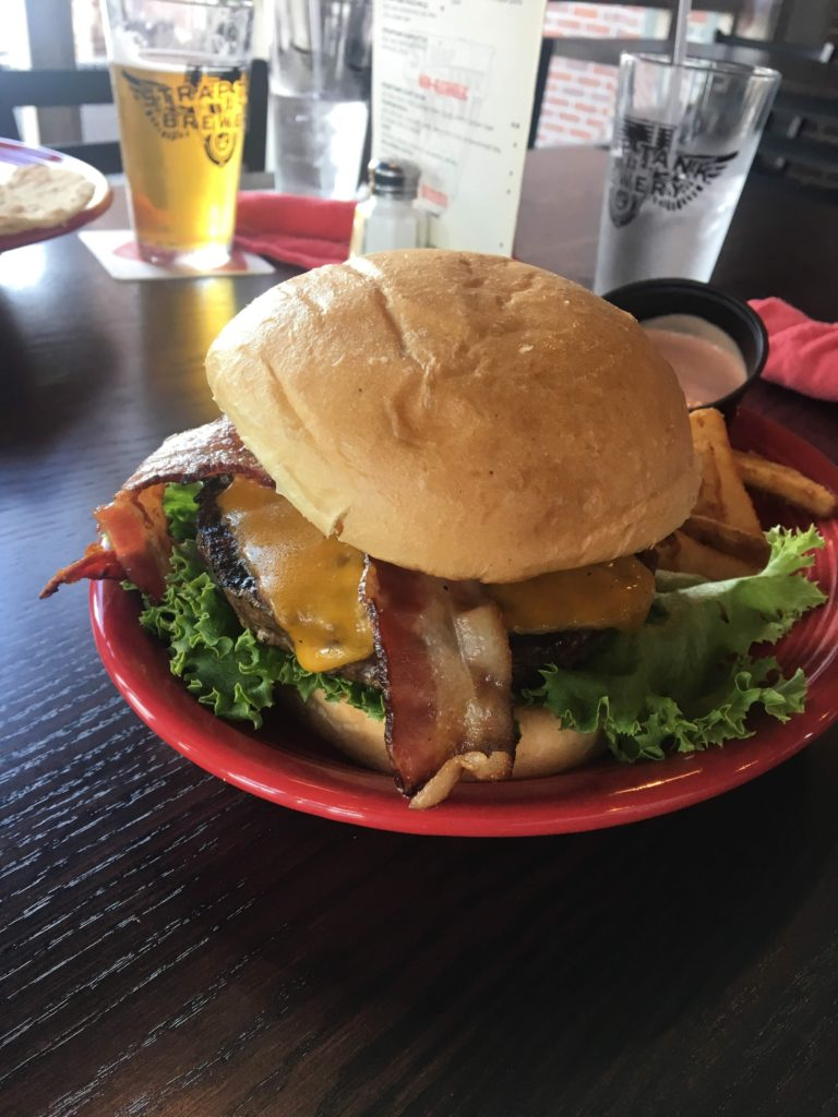 Strap Tank Lehi Bacon Cheeseburger