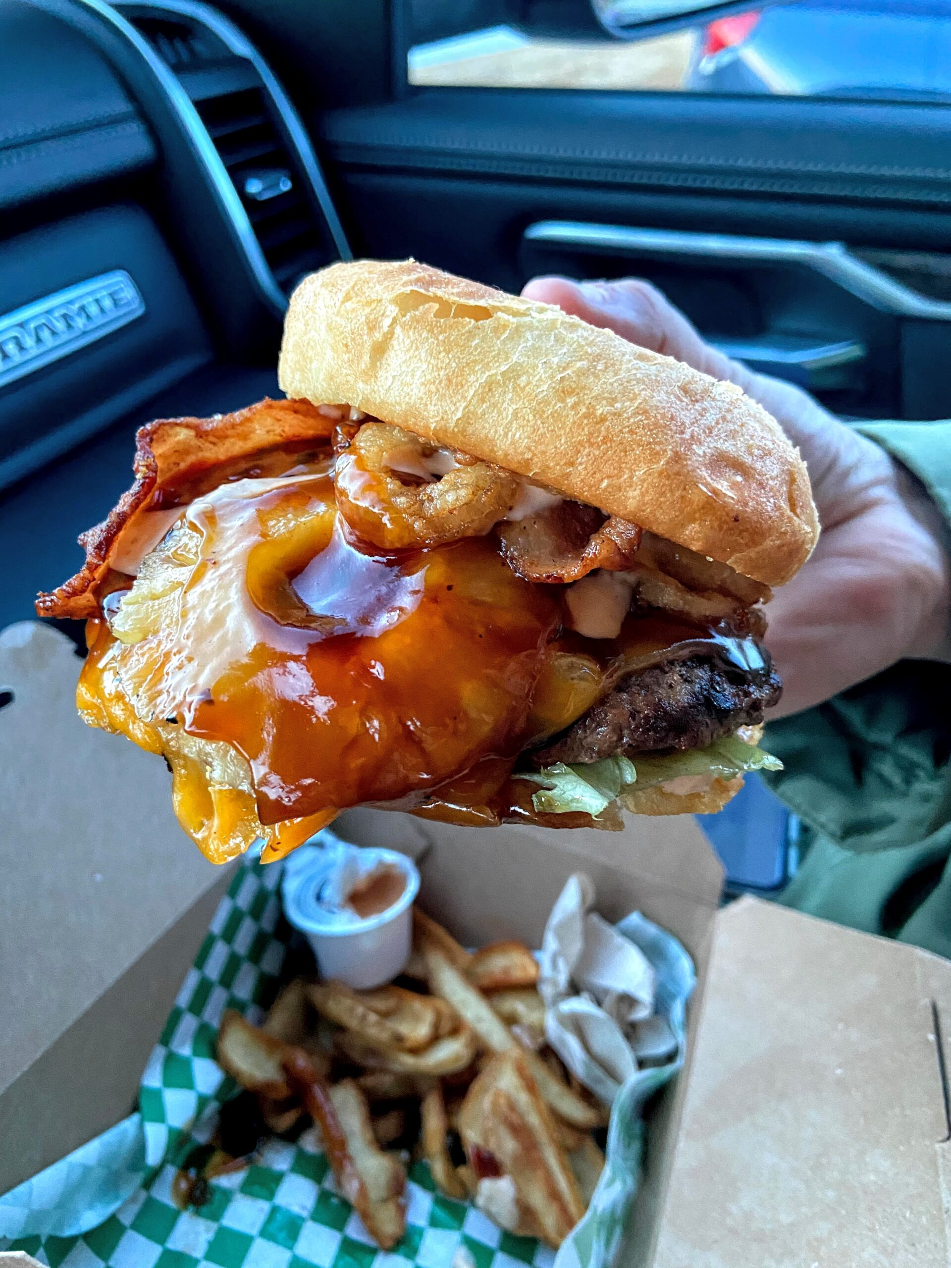 Aloha burger from Burgers & Barley